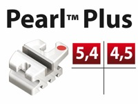 PEARL™ MBT .022 UP4/5 HK - 1è/2è PM Sup.  avec crochet   -7°Torq  +0°Ang - 5/pk
