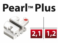Pearl™ Plus Roth .018 L1/2 - Centrale ou Latérale Inf.  +0°Torq  +0°Ang - 5/pk